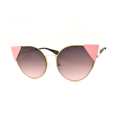 Cateye Pointed Sunglasses
