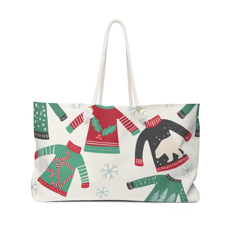 Ugly Sweater Gift Tote - F. W. Woolworth Co. Online Store