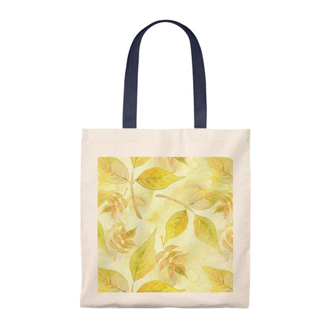 Fall Leaves Vintage Tote Bag