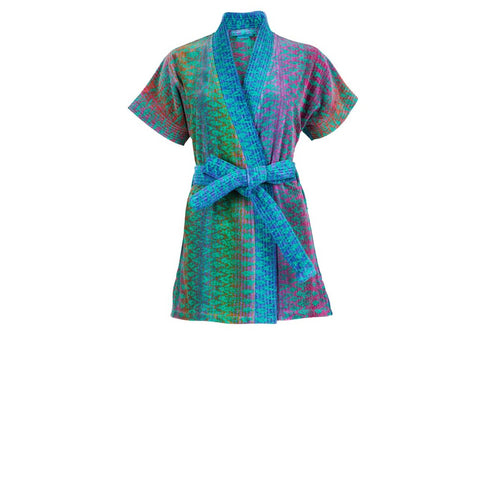 Green Ocean Magic Beach Kimono - F. W. Woolworth Co. Online Store