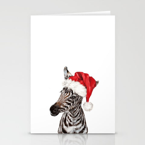 Festive Zebra Greeting Card 5x7 - F. W. Woolworth Co. Online Store
