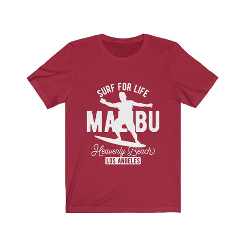 Malibu Surf for Life Short Sleeve Tee - F. W. Woolworth Co. Online Store