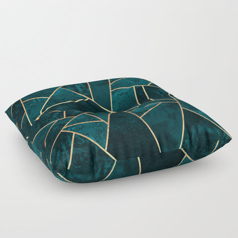 Deep Teal Stone Floor Pillow - F. W. Woolworth Co. Online Store