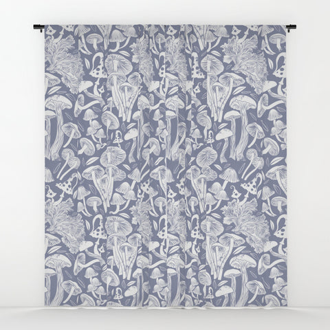 Delicious Autumn Botanical Poison IV Curtains - F. W. Woolworth Co. Online Store