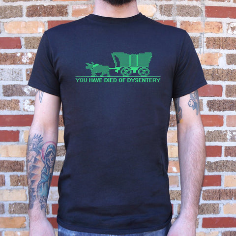 Mens You Have Died of Dysentery T-Shirt - F. W. Woolworth Co. Online Store
