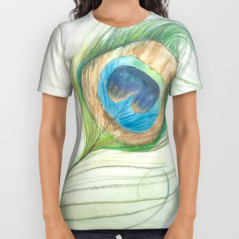 Peacock Feather T-Shirt - F. W. Woolworth Co. Online Store