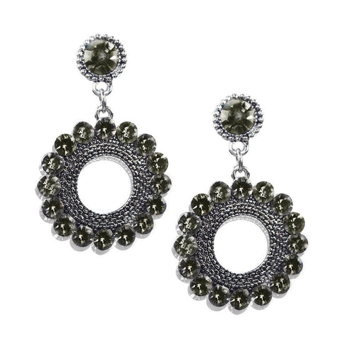 Gyre Earrings - Silver - F. W. Woolworth Co. Online Store