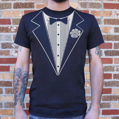 Mens Tuxedo T-Shirt - F. W. Woolworth Co. Online Store