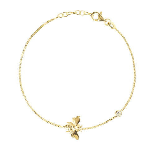 Queen Bee Bracelet Gold - F. W. Woolworth Co. Online Store