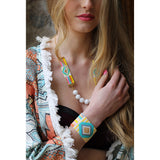 Rainbow Beaded Bracelet - F. W. Woolworth Co. Online Store