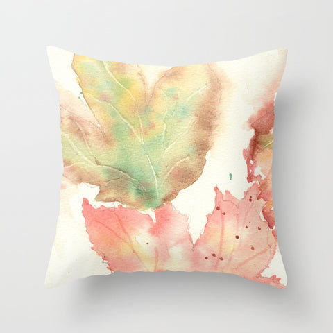 Fall Leaves Pillow Cover w/ Insert