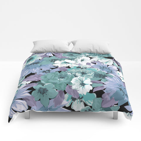Flowers XI Comforter - F. W. Woolworth Co. Online Store