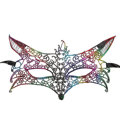 Multicolor Fox Masquerade - F. W. Woolworth Co. Online Store