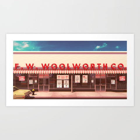 F. W. Woolworth Co. Art Print - F. W. Woolworth Co. Online Store