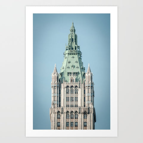 Woolworth Gothic 5 & Dime Art Print