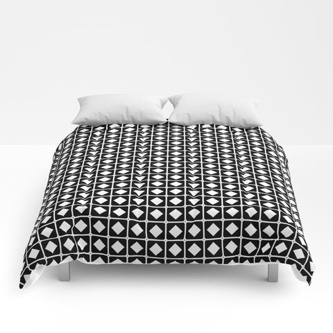 Grid Pattern Duvet Cover - F. W. Woolworth Co. Online Store
