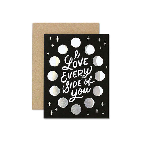 Every Side of You Greeting Card