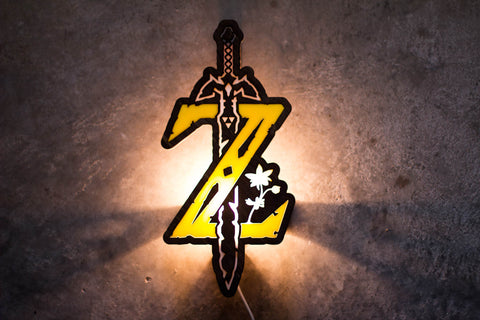 Zelda Breath of the Wild Lamp - F. W. Woolworth Co. Online Store
