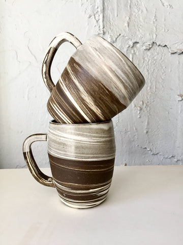 Marbled Ceramic Coffee Mug