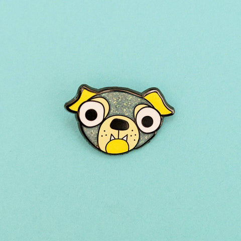 Puppy Hard Enamel Lapel Pin