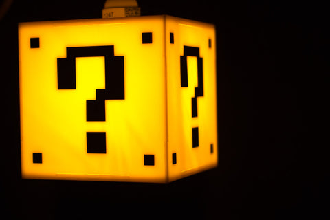 Mario Question Mark Block Lamp - F. W. Woolworth Co. Online Store