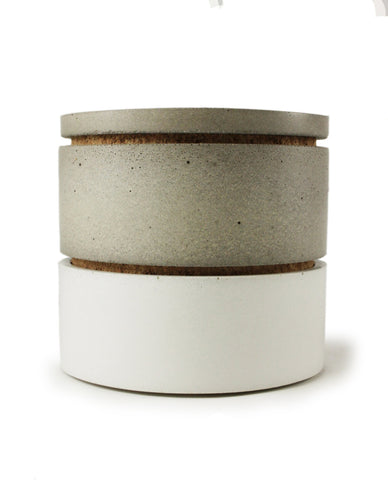 Modular Stackable Canisters / Salt Cellar Set