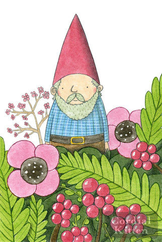 Hello Gnome Art Print