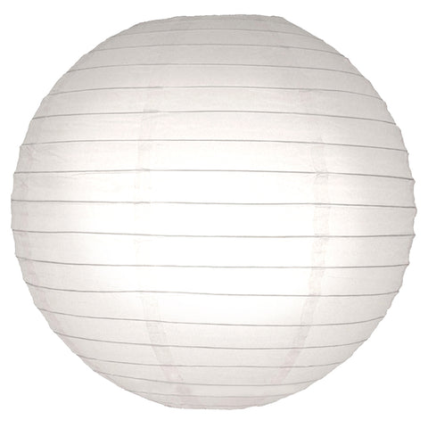 "Round Paper Lanterns (10"") White- 5ct - F. W. Woolworth Co. Online Store"