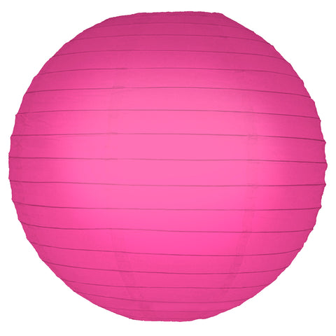 "Round Paper Lanterns (10"") Fuchsia- 5ct - F. W. Woolworth Co. Online Store"