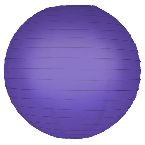 "Round Paper Lanterns (10"") Purple- 5ct - F. W. Woolworth Co. Online Store"