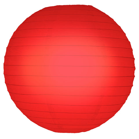"Round Paper Lanterns (10"") Red- 5ct - F. W. Woolworth Co. Online Store"