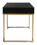 REVELL DESK BLACK & BRASS - F. W. Woolworth Co. Online Store