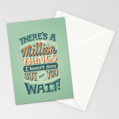 Just You Wait Hamilton Card - F. W. Woolworth Co. Online Store