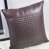 Synthetic Leather Pillow - F. W. Woolworth Co. Online Store
