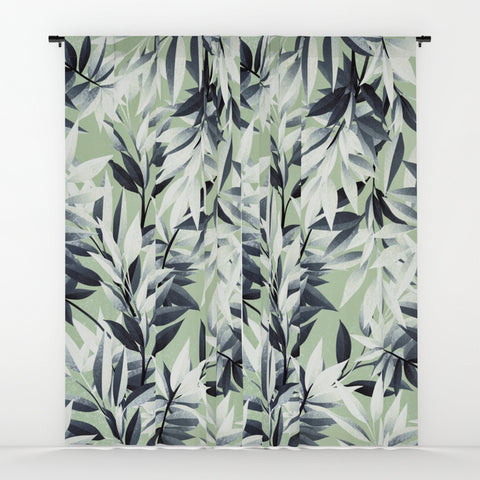 Green Leaves Window Curtains - F. W. Woolworth Co. Online Store