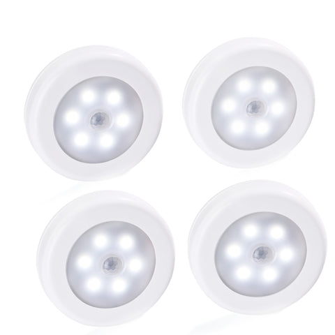 Adhesive, Wireless, Battery-Powered Motion Sensor LED Light