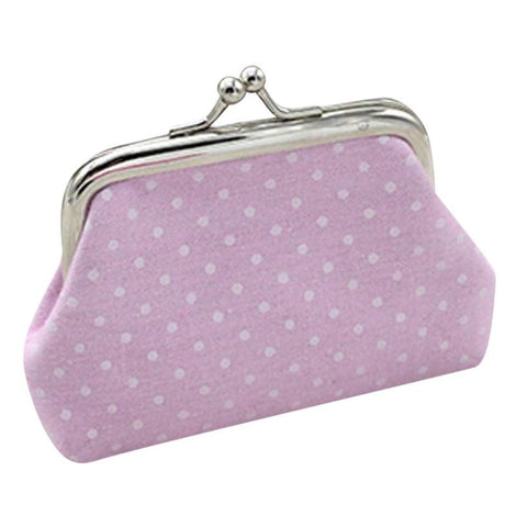Retro Polkadot Coin Purse / Wallet - F. W. Woolworth Co. Online Store