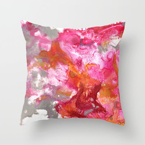 Magenta Explosion Pillow Cover w/ Insert - F. W. Woolworth Co. Online Store