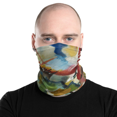 Art Print Neck Gaiter