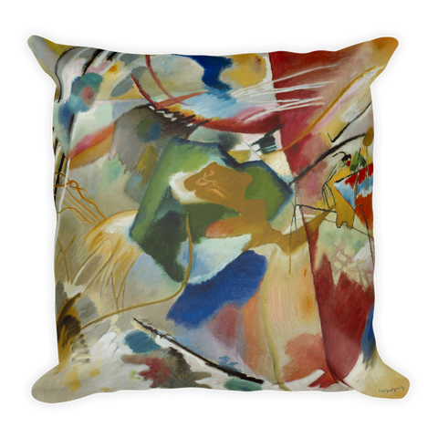 Kandinsky Mixed Art Pillow 18x18