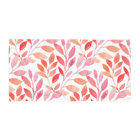 Summer Leaves Towel