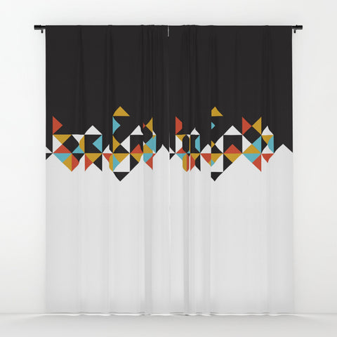 Modern Building Window Curtains