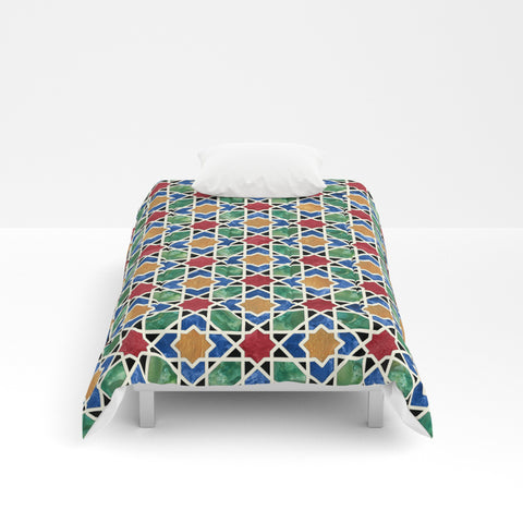 Moroccan Mosaic Comforter - F. W. Woolworth Co. Online Store