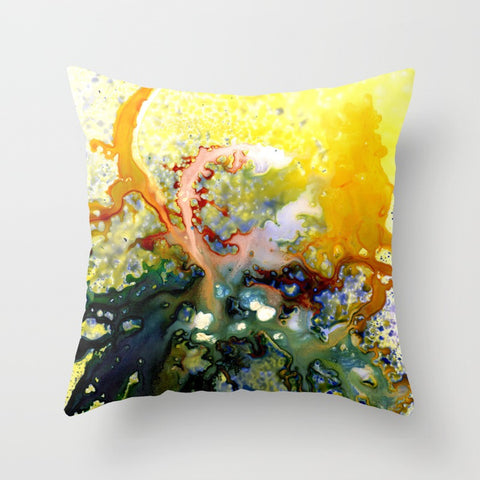 Nebula Abstract Pillow Cover w/ Insert