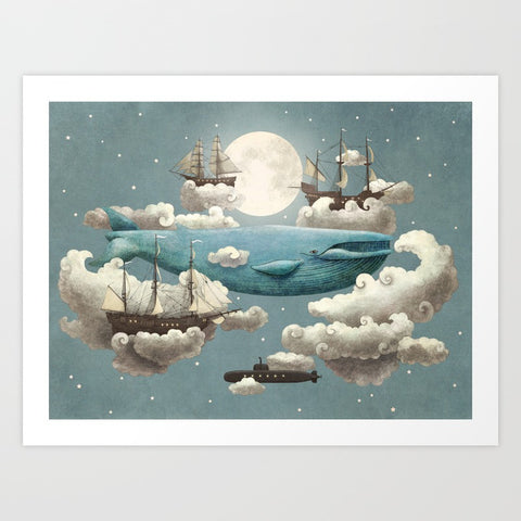Ocean Meets Sky - F. W. Woolworth Co. Online Store