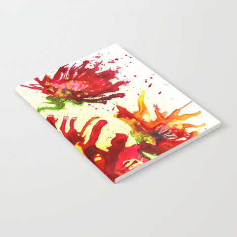 Poppy Explosion Notebook