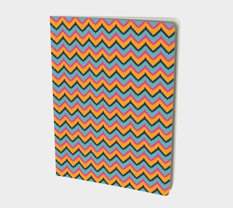 Bright Zig Zag Notebook
