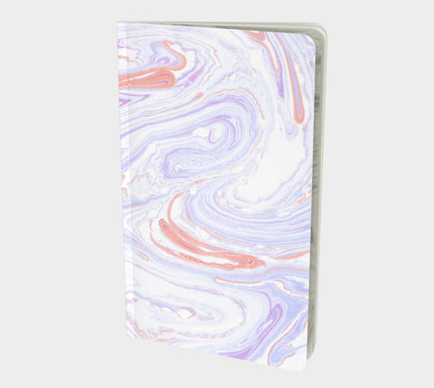 Mini Pastel Marble Notebook