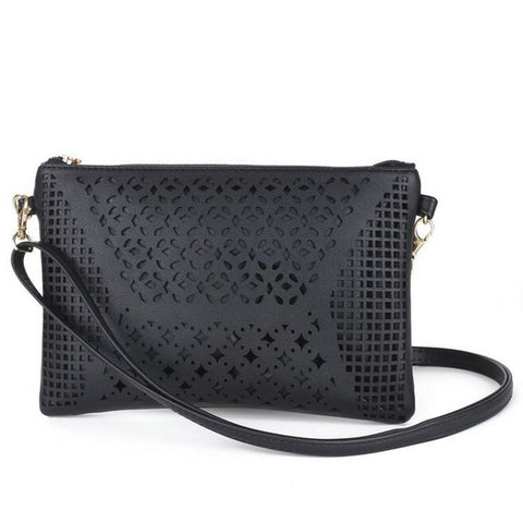 Laser Cut Shoulder Bag - F. W. Woolworth Co. Online Store