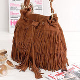 Fringe Shoulder Bag - F. W. Woolworth Co. Online Store